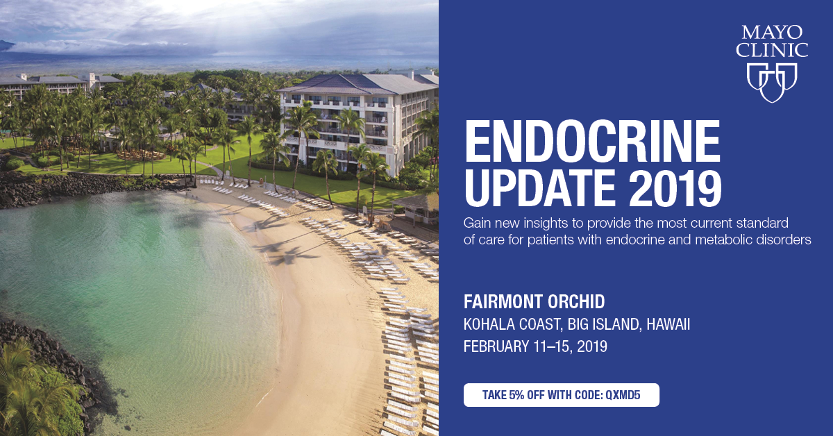 Endocrine Update 2019 - Conferences by QxMD